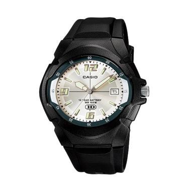 Casio MW-600F-7A Sport Black Jam Tangan Pria