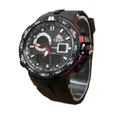 D-ziner dz8085 Dual Time Jam Tangan Pria