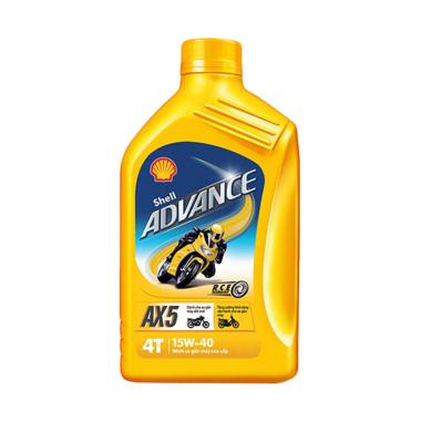 Shell Advance 4T AX5 SAE 15W/40 Oli Pelumas [1 L]