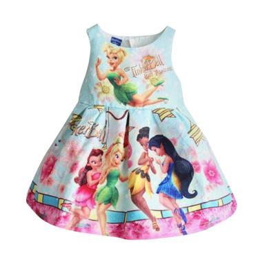 GBS Jacquard Tinkerbell Dress Anak - Tosca