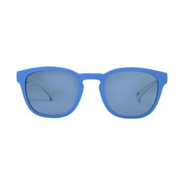 Adidas Wayfarer Sunglass 001 Kacamata - Blue White