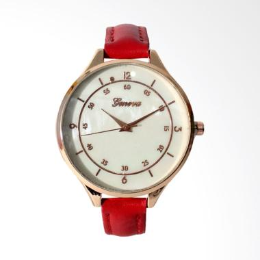 Geneva FIN-137 Jam Tangan Wanita Analog - Red