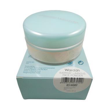 Wardah Everyday Luminous Face Powder 03 Ivory - 30gr