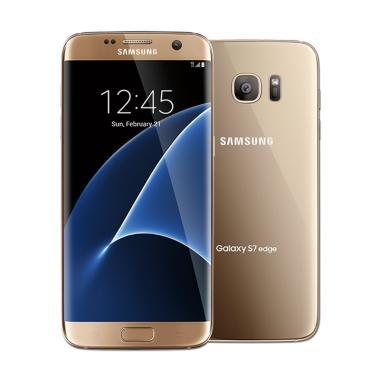 Samsung S7 Edge Smartphone - Gold [32GB/ 4GB]
