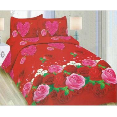 Bonita Lovely Rose Set Sprei [180 x 200 cm]