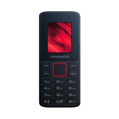 Advan Hammer R1D Handphone - Hitam [Dual SIM]