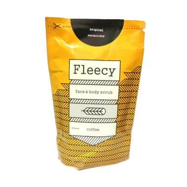 PROMO Fleecy Original Coffee Face & Body Scrub [200 g]