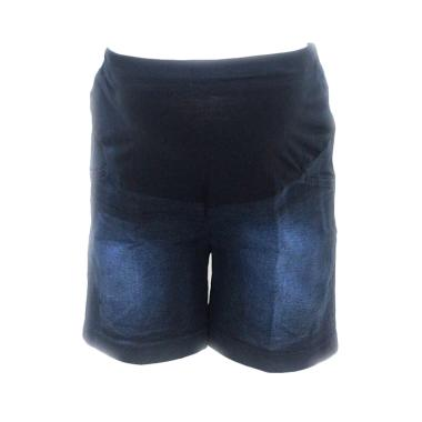 HMILL 408 Jeans Celana Hamil - Black