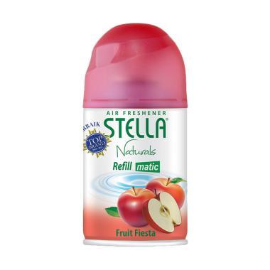 harga Stella Matic Refill Fruit Fiesta Pengharum Ruangan [225 mL] Blibli.com