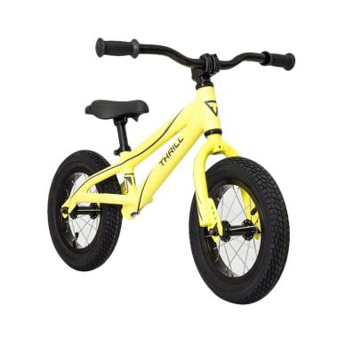 Thrill Push Bike or Balance Bike Sepeda Anak - Yellow