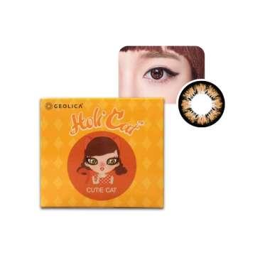 harga Geolica Holicat Softlens Warna -5.50 Cutie Brown Blibli.com