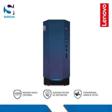 harga PC Lenovo IdeaCentre G5 14AMR05 (90Q1003VID) Desktop PC [AMD Ryzen 5-3600/16GB/512GB SSD+1TB HDD/VGA 6GB/Win 10 Home+OHS 2019] Raven Black Blibli.com