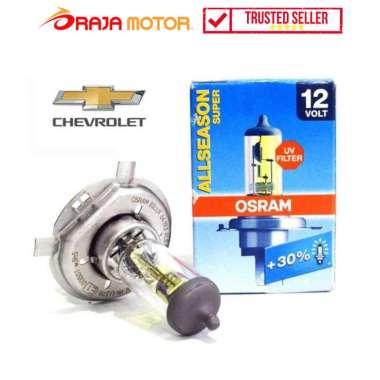 harga Osram Lampu Bohlam Depan Halogen Mobil Chevrolet H4 12V 60W/55W AM 64193 P43T Allseason - Aksesoris Motor Clear Blibli.com