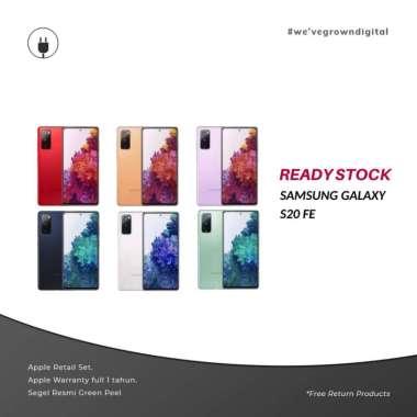 (RESMI SEIN) Samsung Galaxy S20 FE [8GB-128GB] Original Indonesia Orange