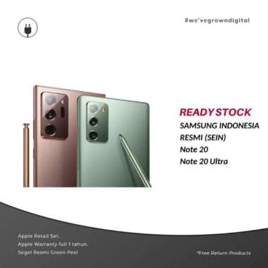 [RESMI SEIN] Samsung Galaxy Note 20  8GB - 256GB Mystic Gray