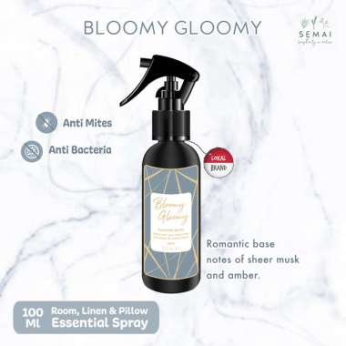 harga SEMAI Bloomy Gloomy Essential Spray Anti Mites Blibli.com