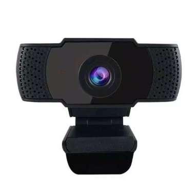 Webcam Full HD 1080p PC Laptop Camera Video Call Zoom Meeting Skype Hitam