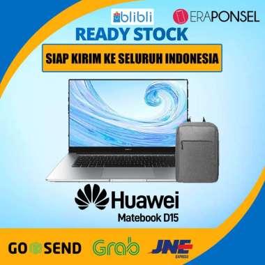 Huawei Matebook D15 Ryzen 5 8GB 256GB SSD Radeon Vega 8 GARANSI RESMI Silver