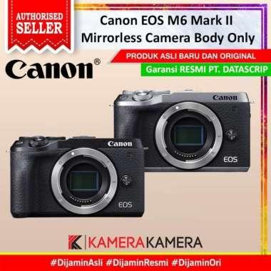 harga KameraKamera Canon EOS M6 II Mirrorless Camera Body Only Black Blibli.com