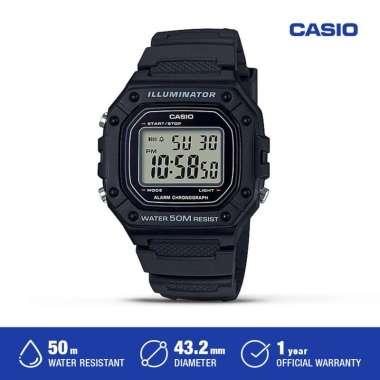 Casio Jam Tangan wanita W-218H-1AVDF Digital