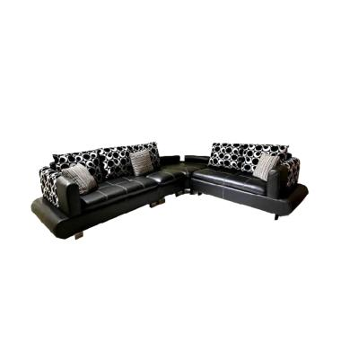 Best Wellington's 898 L Sofa Sudut - Black