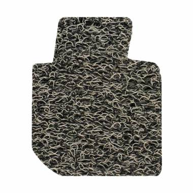 Comfort Karpet Mobil For Toyota Fortuner - Light Grey Black [Bagasi]