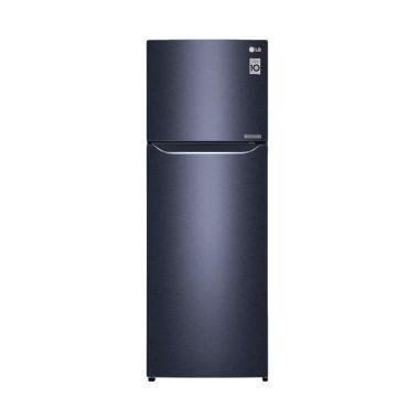LG GNC372SQCN Kulkas 2 Pintu - 169 Cm - Black Purple