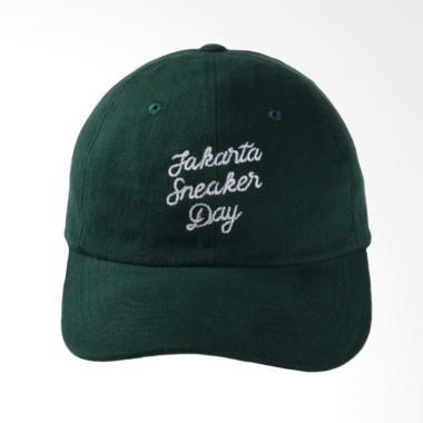 Jakarta Sneaker Day Polocaps Font JSD Topi