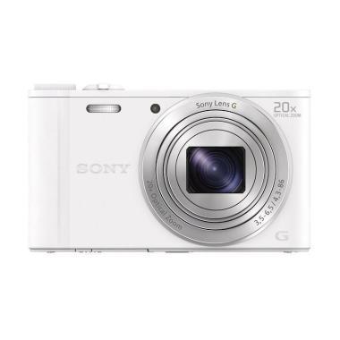 Sony Cyber-shot DSC-WX350 Kamera Pocket - Putih
