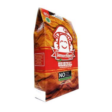 Jamoru Chipsy JAMUR KRISPI Rasa Barbeque [70 g]
