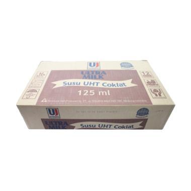 Ultra Jaya UHT Susu Ultra Coklat [125 mL/ 1 Dus]