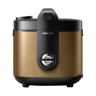 PHILIPS HD 3128 Rice Cooker - Gold