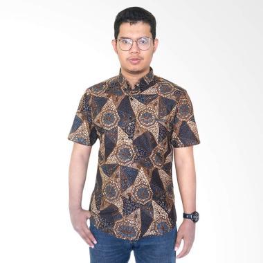 Masani Slimfit 75 Short Sleeve C Series Baju Batik Pria