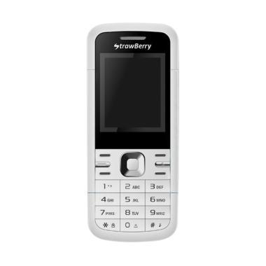 harga Strawberry ST7 Sierra Handphone - White Blibli.com