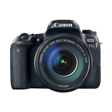 Canon EOS 77D Wifi Kit 18-135mm IS  ... k + Free LCD Screen Guard