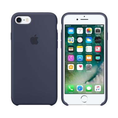Apple Silicon Casing for iPhone 6 or 6S - Navy