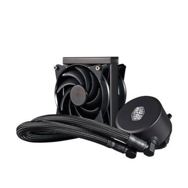 Cooler Master 120 CPU Liquid Kipas PC