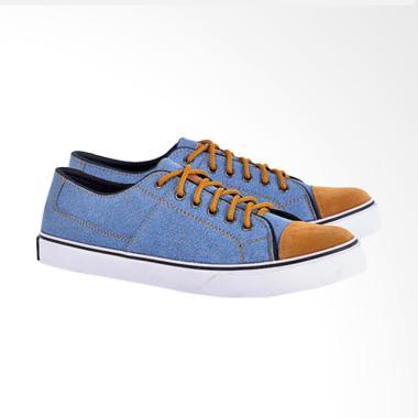 c8bb95c515197 Azzura Sneakers Shoes Pria 606-06