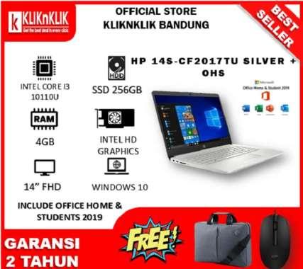 harga HP 14S CF2075TU i3 10110U + OHS (INTEL I3-10110U   4GB   256GB SSD   14