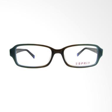 ESPRIT 14173-53 Rectangle Frame Kacamata - Biru Coklat