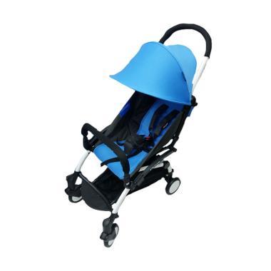 BabyDoes 338 Petite Kereta Dorong Bayi - Blue