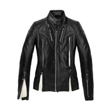 Spidi Stormy Leather Jaket Motor - Black