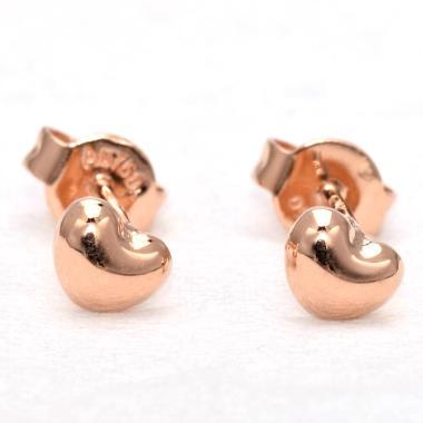Tiaria Love D2 Earring Anting Emas Perhiasan - Rose Gold