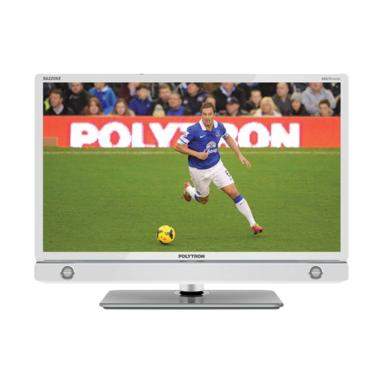 Polytron PLD32D905W TV LED - Putih [32 Inch]