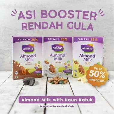 harga Almona Almond Milk Powder ASI BOOSTER Daun Katuk Dairy Free 175 gr - Banana Blibli.com