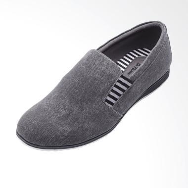 Dr.Kevin Men Canvas Shoes Sepatu Pria - Black 13187