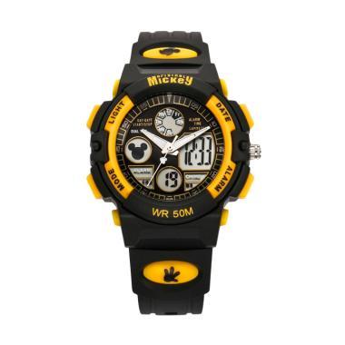 Disney MS15014-Y Mickey Jam Tangan Sports Anak - Hitam Kuning