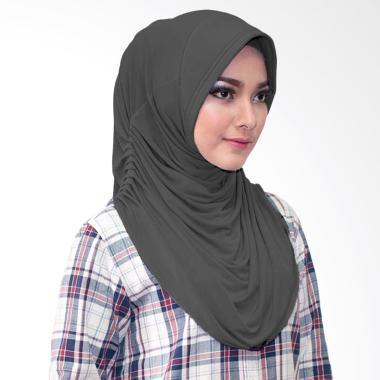 Milyarda Hijab Rumina Jilbab Instan - Hitam