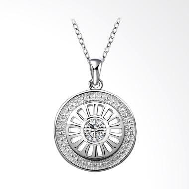 Bella & Co Necklace LKNSPCN692 Aksesoris Kalung Lapis Silver