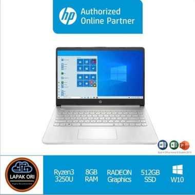 harga HP 14s-FQ0021AU RYZEN 3 - 3250 W10H OHS19 Desktop PC [8GB/512GB] Packing Biasa Blibli.com